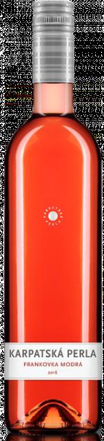 FRANKOVKA MODRÁ Rosé 2016 Karpatská perla CHOP