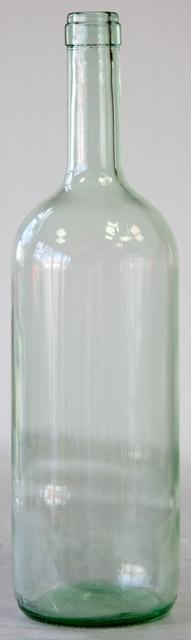 Fľaša Bordo Clasica sklo objem 1.5 l polobiela magnum V 35 cm