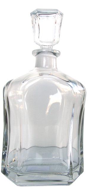 Fľaša sklenená Capitol na alkohol likér whisky 0,7 L s uzáverom