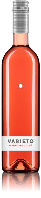 Frankovka Modrá Rosé Ružové 2013 Karpatská Perla VARIETO CHOP