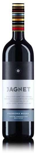 Frankovka Modrá JAGNET 2012 Karpatská Perla akostné víno