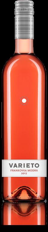 Frankovka modrá rosé 2012 Karpatská perla