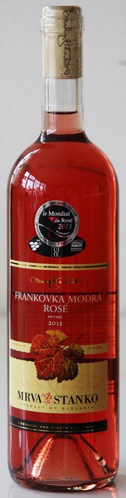 Frankovka modrá rosé 2012 Mrva & Stanko Vinodol