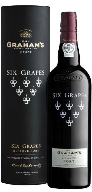 Grahams Six Grapes Porto - Portské víno červené obj. 0,75 L, Alk