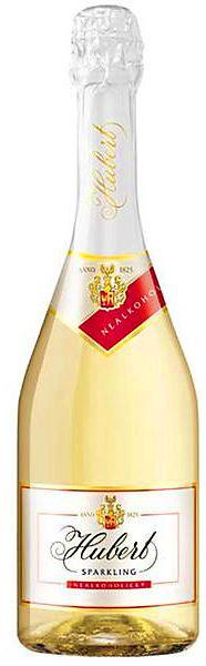HUBERT Sparkling nealkoholický šumivý nápoj z vína