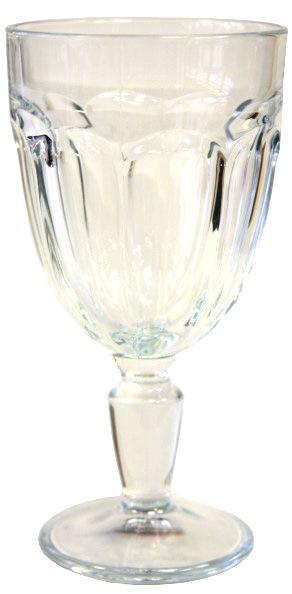 Kalich Pohár na víno RETRO, 340 ml, Casablanca , číry