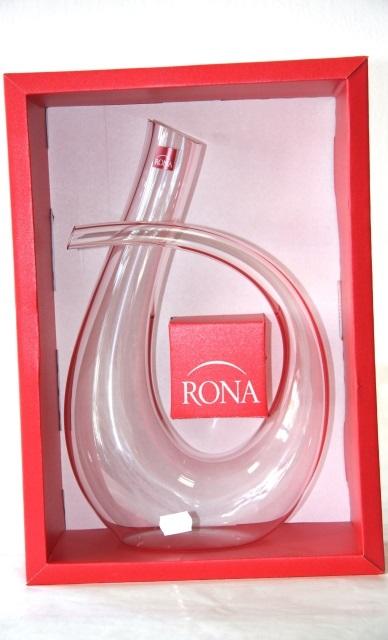 Karafa - Carafe Nádoba víno Wine bottle Decanter RONA Pegasus