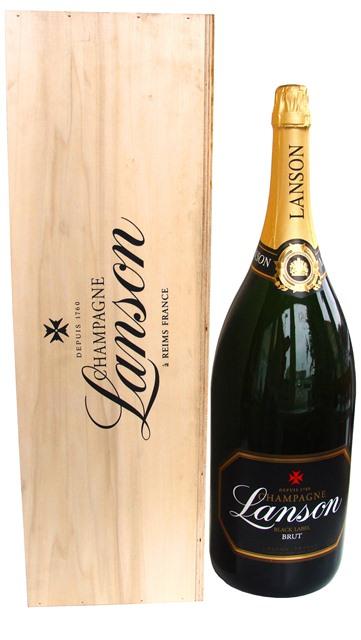 """LANSON Champagne Mathusalem Black Label obj. 6 L, """"šampanské"""""""