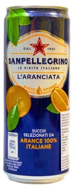 L´ARANCIATA SANPELLEGRINO Limonáda, malinovka, nealko pomaranč