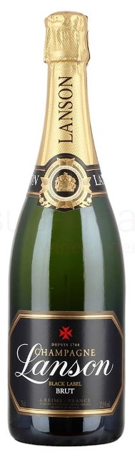 Lanson Champagne Black Label Brut France