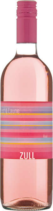 Rosé Lust & Laune ZULL vino Rakúsko