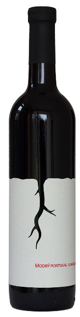 MODRÝ PORTUGAL 2015 Carbonique vinárstvo Magula