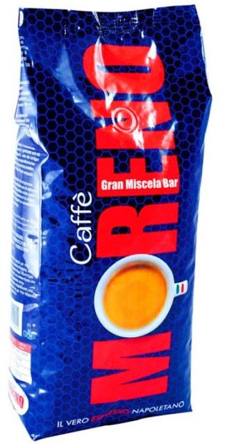 MORENO pražená káva zrnková - coffee - caffé Gran Miscela Bar