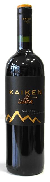 Malbec Kaiken Ultra 2015 Mendoza Argentina suché víno červené