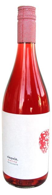 Malina Frizzante - Vinovin - ovocné víno z červených malín