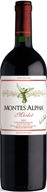 MERLOT Montes Alpha vino Chile - Čile