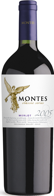Merlot 2011 Reserva Montes vino Classic