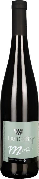 Merlot 2010 Lahofer odrodové víno