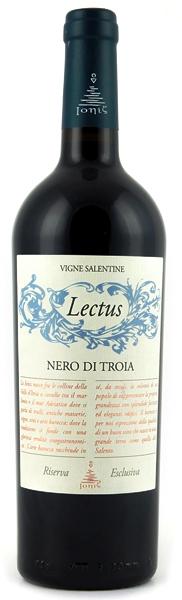 NERO di Troia Lectus IONIS Vino Taliansko