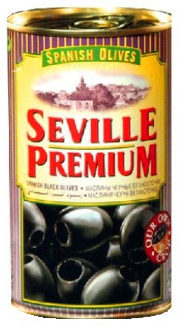 OLIVY čierne bez kôstky SEVILLE PREMIUM Španielsko 350g