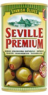 OLIVY zelené s papričkou SEVILLE PREMIUM Španielsko 350g