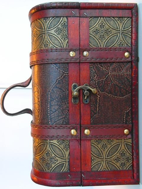 Obal Krabica Kufor Box Set Kazeta malá darček šperkovnica