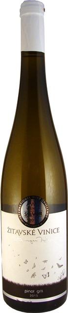 PINOIT GRIS Žitavské vinice víno biele suché