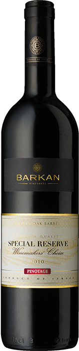 PINOTAGE 2009 Barkan Special Reserve Winemakers Choice
