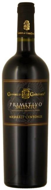 PRIMITIVO SALENTO 2014 Cantore di Castelforte Masserie Centonze