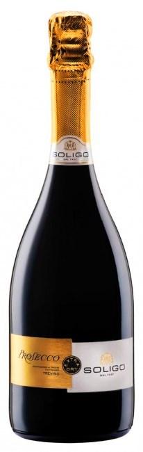 PROSECCO Soligo Frizzante víno biele šumivé DOC