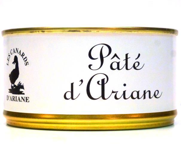 Paštéta Paté Ariane kačica , bravčové mäso, hydinová pečienka