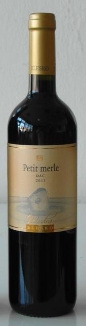 Petit Merle 2011 Elesko vinárstvo DSC Barrique