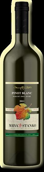 Pinot Blanc Rulandské biele Mrva & Stanko 2011 neskorý zber