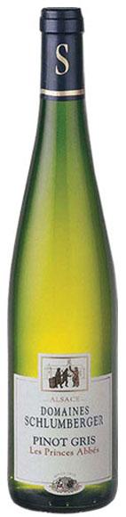 Pinot Gris Les Prices Abbés Domaines Schlumberger Alsasko France