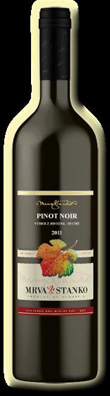 Pinot Noir 2011 Mrva & Stanko Výber z Hrozna Čachtice