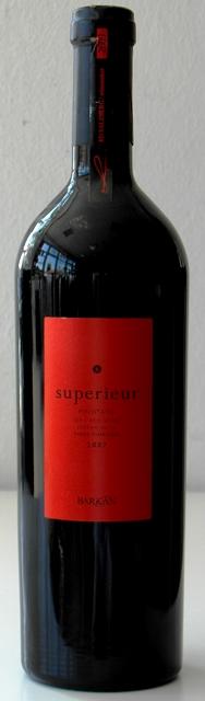 Pinotage 2007 Superieur Barkan wines Israel Galil