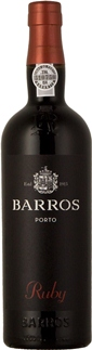 Portské víno červené - Porto Barros Ruby Portugalsko