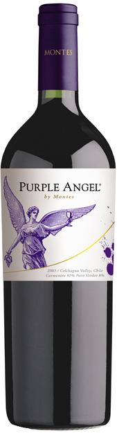 Purple Angel Montes vino Chile 2009 Carmenere