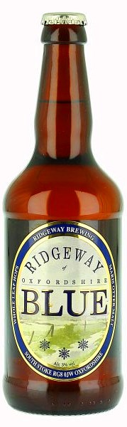 RIDGEWAY Brewing Oxfordshire BLUE beer - pivo whole leaf