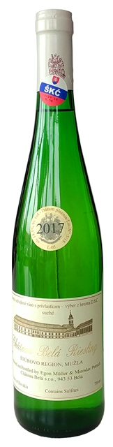 RIESLING Rizling Rýnsky Chateau Belá VZH suché víno biele