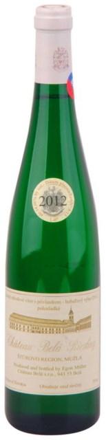 RIZLING RÝNSKY CHATEAU BELÁ 2012 Bobuľový Výber Polosladké víno