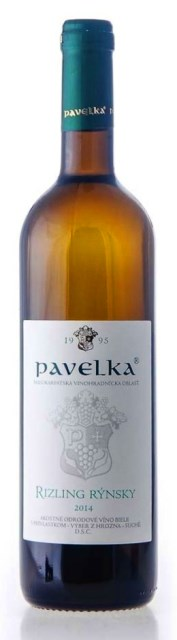 RIZLING RÝNSKY - Pavelka víno výber z hrozna