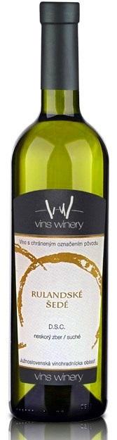 RULANDSKÉ ŠEDÉ 2015 Vins Winery D.S.C. Neskorý zber