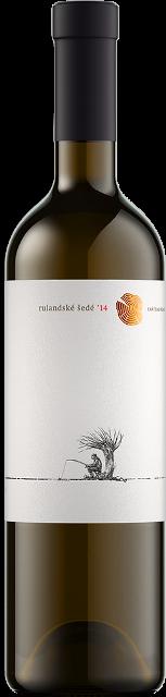 RULANDSKÉ ŠEDÉ 2014 Chateau Rúbaň suché víno biele