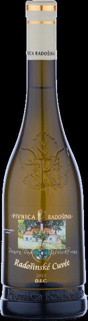 RADOŠINSKÉ CUVÉE 2013 Pivnica Radošiná akostné víno polosuché