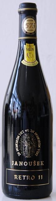 RETRO 11 Janoušek vinárstvo Výber z Hrozna