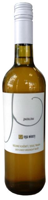 Rizling vlašský Repa Winery 100 % hroznový mušt