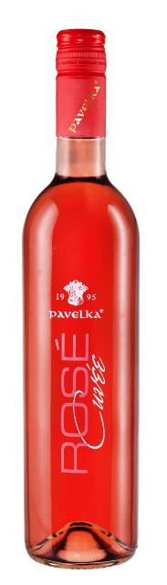 Rosé Cuvée Pavelka víno 2015 Neskorý Zber DSC