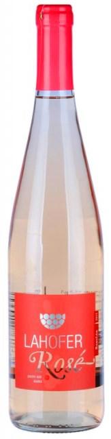 Rosé Lahofer neskorý zber sladké víno