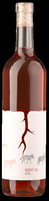 Ružový vlk bio víno ružové - rosé vinárstvo Magula